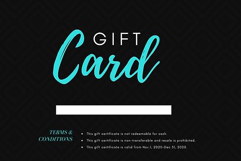 ¡Regala Biora! Gift Card / Tarjeta de Regalo 3