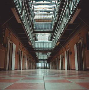 Interieur begaande grond vrouwengevangenis