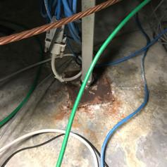 Under floor moisture problem