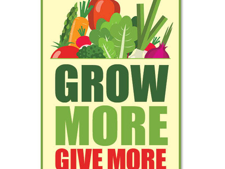 Grow More, Give More: Sharing the Food You Grow with Others