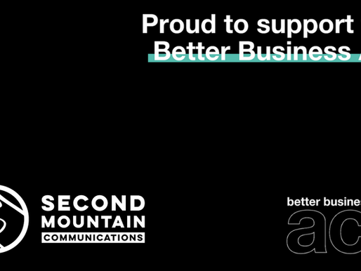 Second Mountain Comms supports the Better Business Act