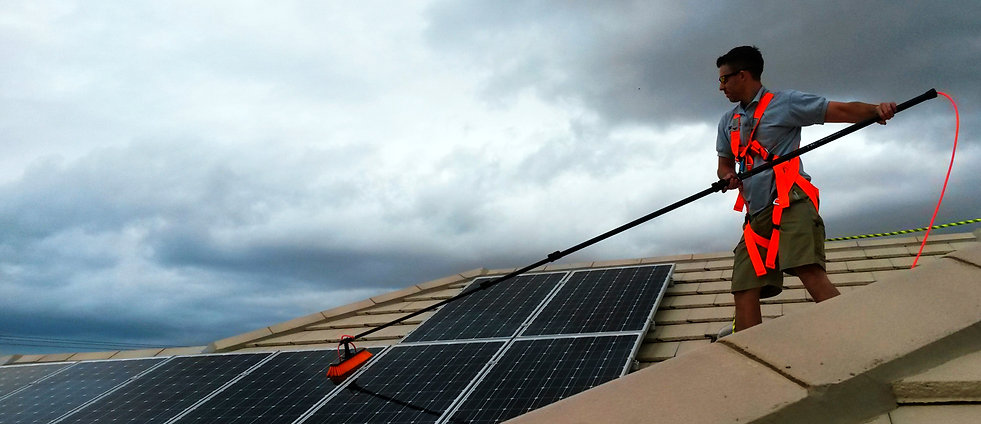 Adelaide Solar Panel Cleaning - Local Home Windows