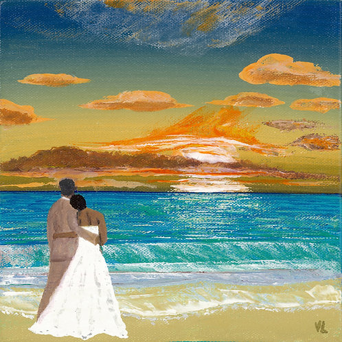 91. Wedding Scene.  2019  (canvas print)