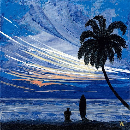 12. Love of the Ocean.  2019  (canvas print)