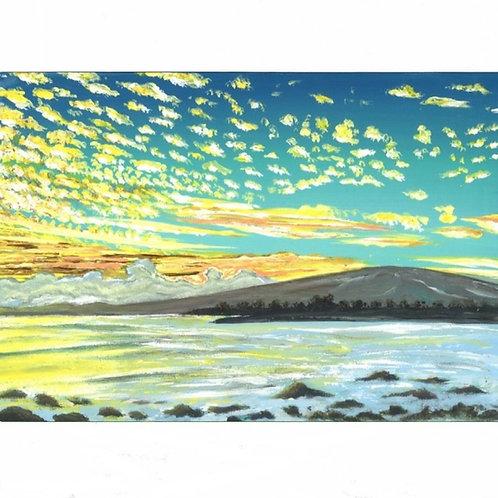 101.  Cheerful Clouds.  2020  (canvas print)