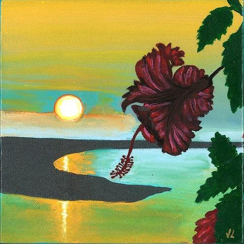 6. Flower.  2019  (canvas print)