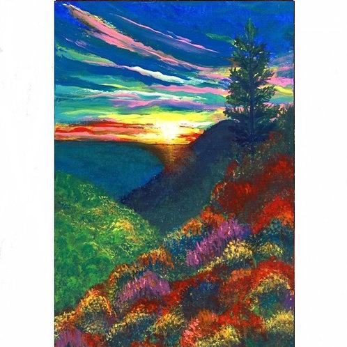 110.  Paradise Landscape.  2020  (canvas print)