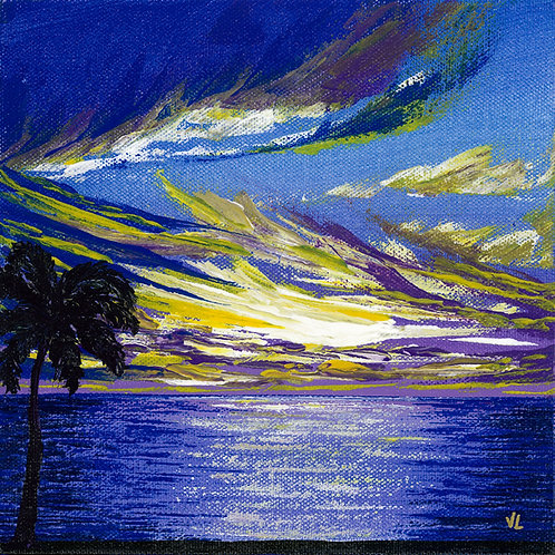 16. Royal Sunset.  2019  (canvas print)