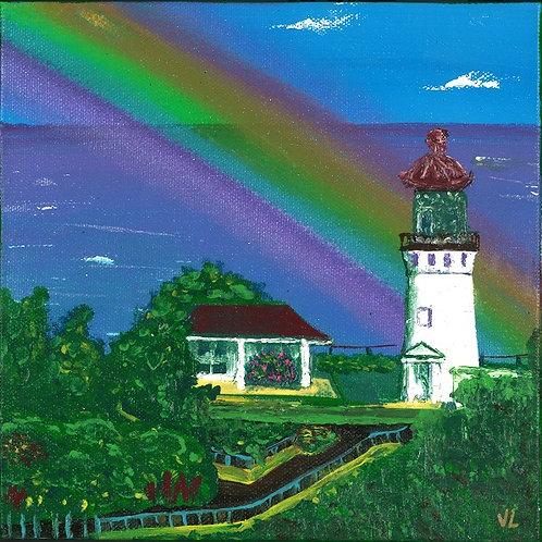 3.  Rainbow Day.  2019  (canvas print)