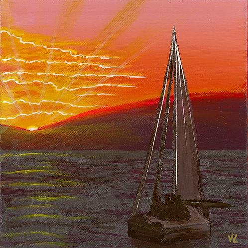 67. Yacht.  2019  (canvas print)