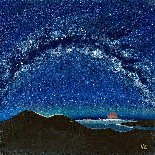 61. Milky Way.  2019  (canvas print)