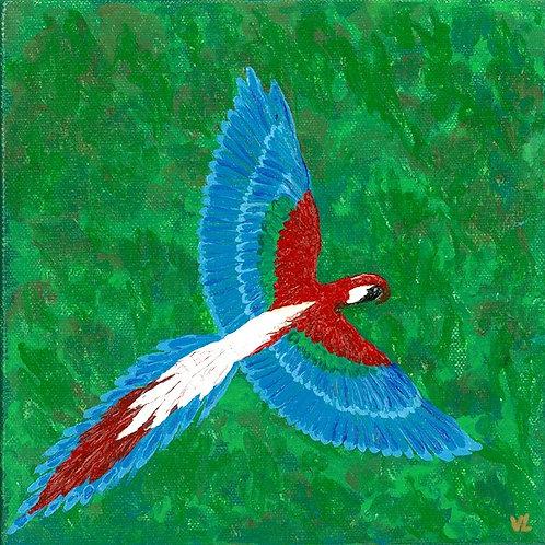 78. Parrot.  2019  (canvas print)