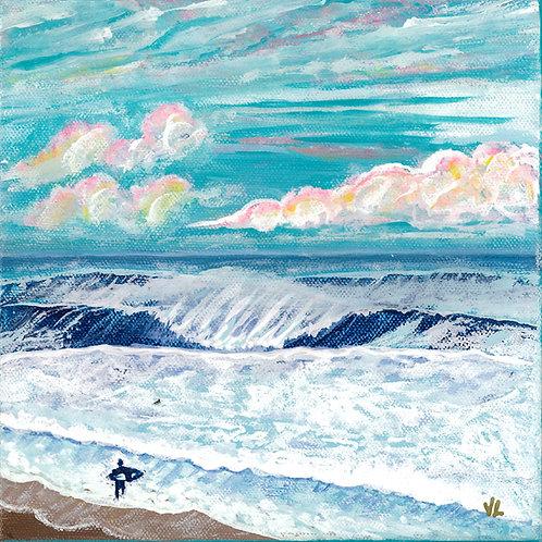 65. Wave Attraction.  2019  (canvas print)