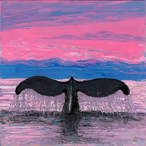 45. Tail of a Whale.  2019  (canvas print)