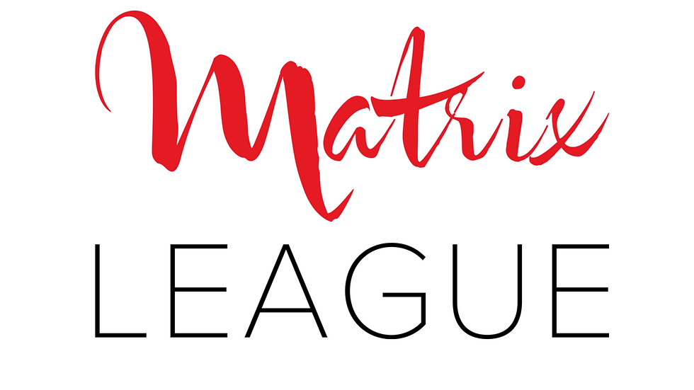 Iron On Matrix League Logo