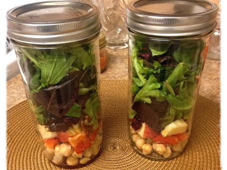 Meal Prep: Salads-In-A-Jar!