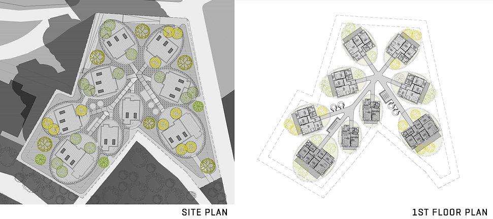 Tiran Lion Gate-site plan-1st floor plan