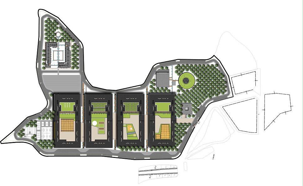 bursa nilufer educational campus-landsca