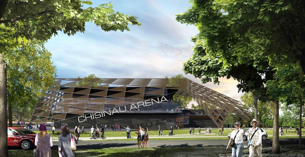 CHISINAU ARENA, AQUA CENTER AND TENNIS CLUB