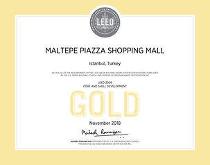 Maltepe Piazza Shopping Mall_LEED Certif