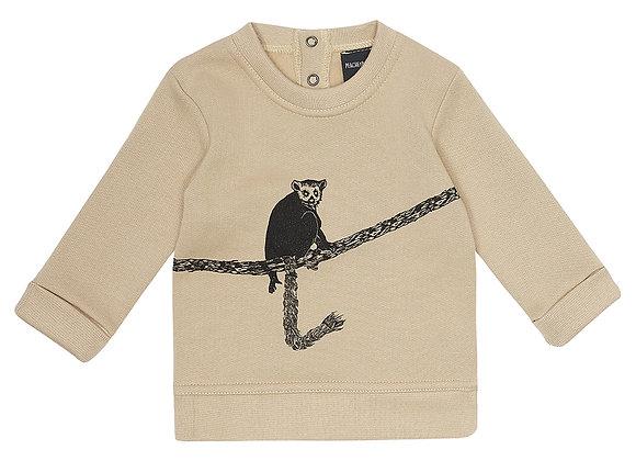 Oatmeal Lemur Sweater