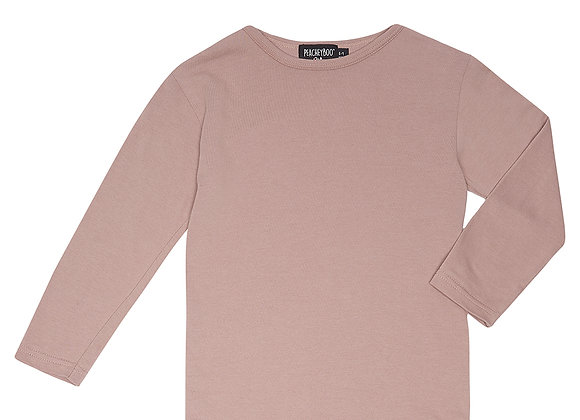 Plum Long Sleeve Tee