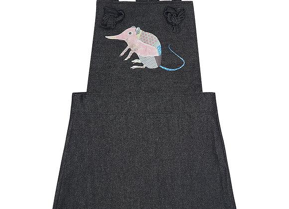 Shrew Denim Pinafore Dress