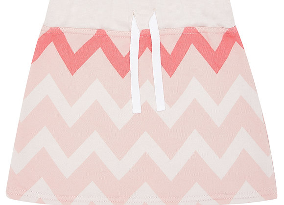 Flash Pink Chevron Skirt