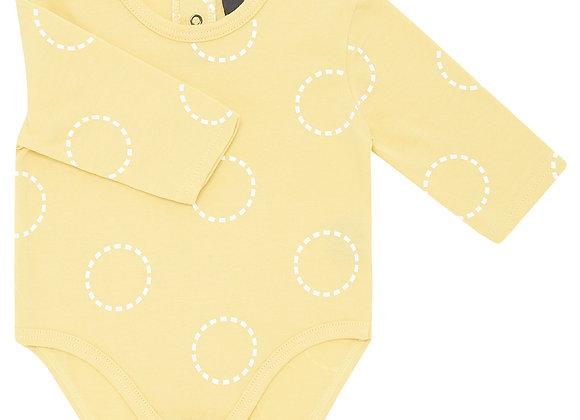 Mustard Circles Bodysuit