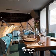 Upstairs at Fatima's Kitchen
