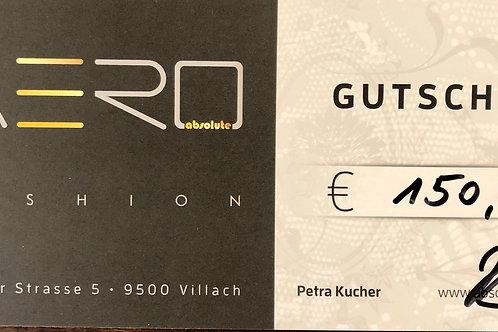 Absolute AERO Geschenksgutschein 150,00€