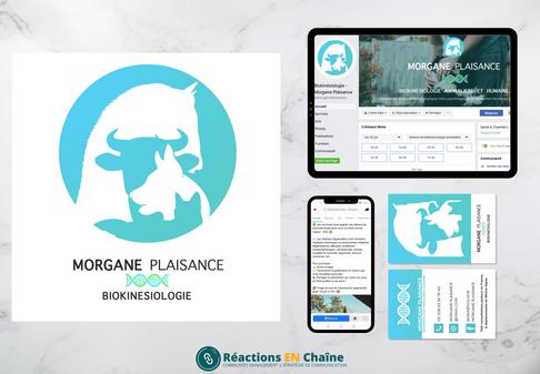 Réalisations pour Morgane Plaisance Biokinésiologie Animalière et Humaine