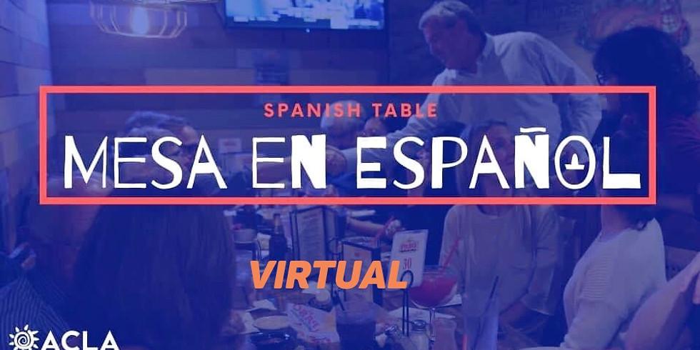 Mesa en Español