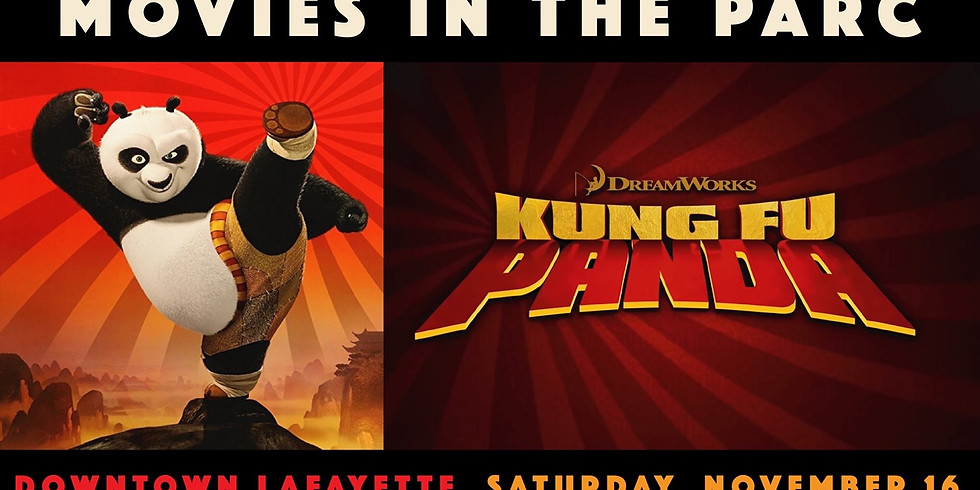 Movies in the Parc: Kung Fu Panda