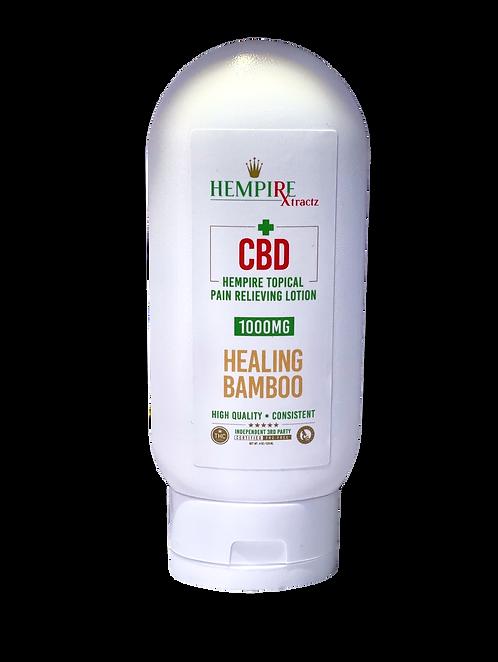 Hempire Healing Bamboo Lotion 1000mg CBD 4oz