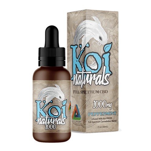 Koi Naturals Hemp Extract CBD Tincture Peppermint