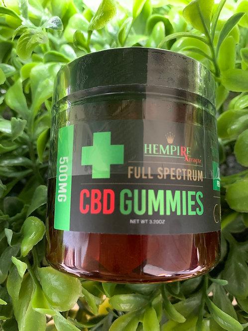 Hempire Full Spectrum Gummies 500mg