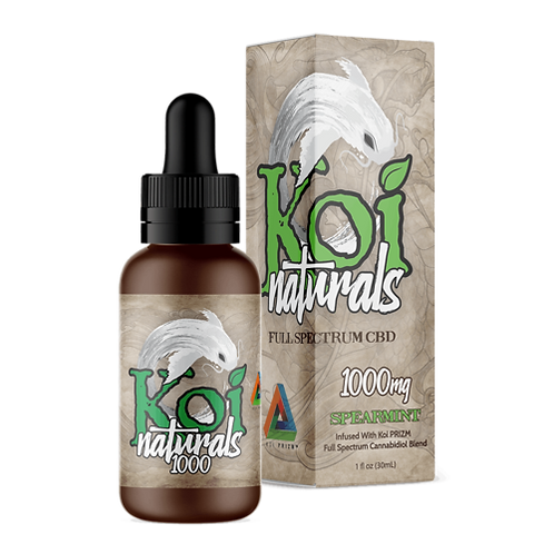 Koi Naturals Hemp Extract CBD Tincture Spearmint
