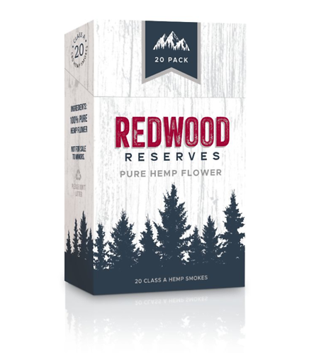 REDWOOD Pure Flower CBD Cigarettes