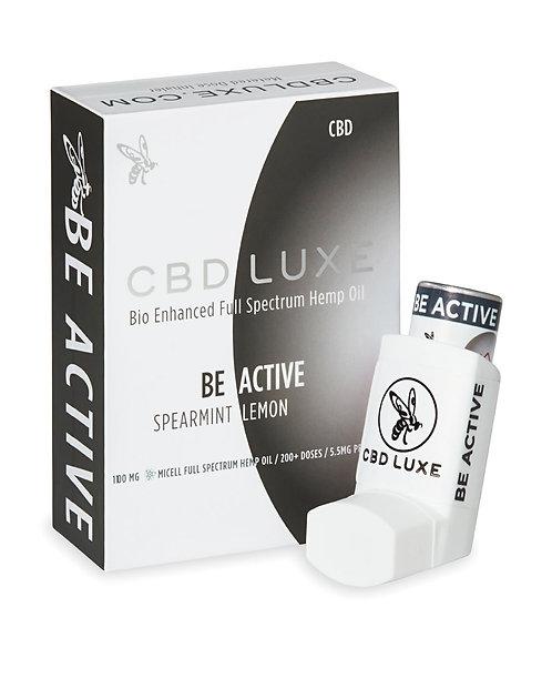 BE ACTIVE – Spearmint Lemon – 1100mg Inhaler