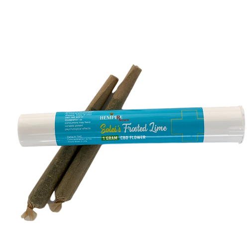 Hempire CBD Pre-Roll Soleis Frosted Lime 1gm