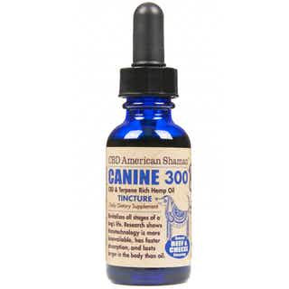 American Shaman Canine CBD and Terpene Rich Hemp Oil Water Soluble 300mg