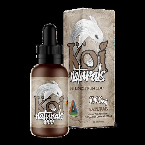 Koi Naturals Hemp Extract CBD Tincture | Natural Flavor