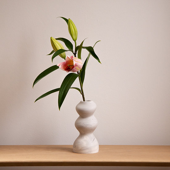 Collection Gravity -Bubbly bud vase