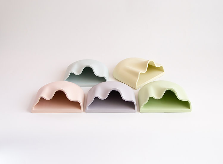 Jumony wall-mount planter - Icy pastel colours series