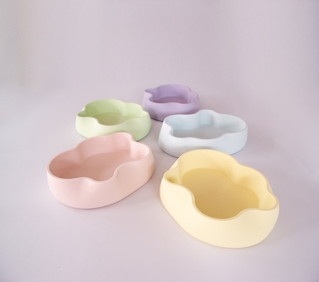 Jumony accessory trays - Icy pastel colours series
