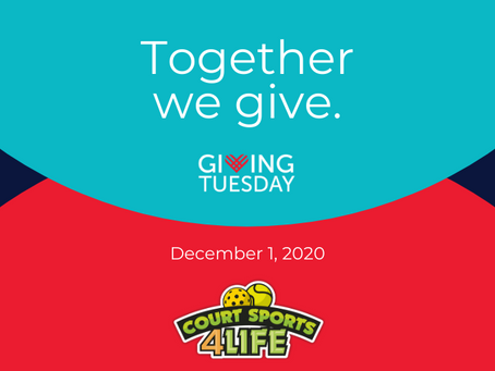 [12/1/20] Today is #GivingTuesday