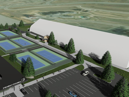 [2/21/21]  Center Expansion Project: It's Time to Talk Tennis!