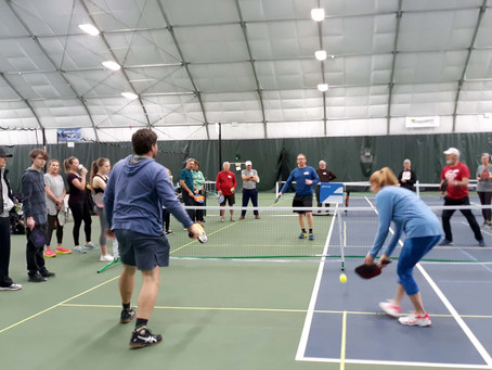 [1/16/20] First-Timer Clinic converts 20 more to pickleball