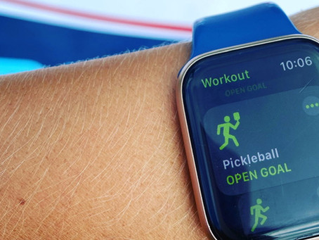 [9/21/20] Pickleball must be legit ... it's now an Apple Watch workout option!
